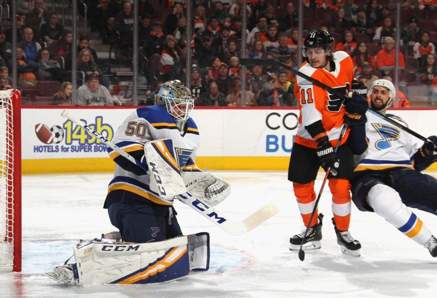 No effort shown in the Flyers 3-0 loss to the Blues