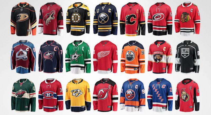 Top 5: NHL Jerseys inHistory