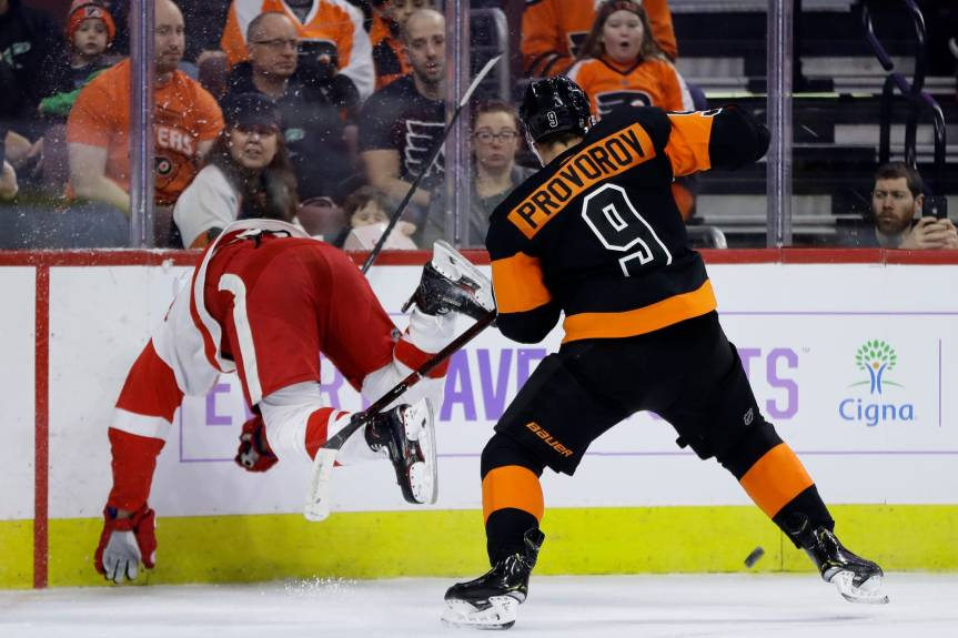 What Happens if Ivan Provorov isn'tSigned?