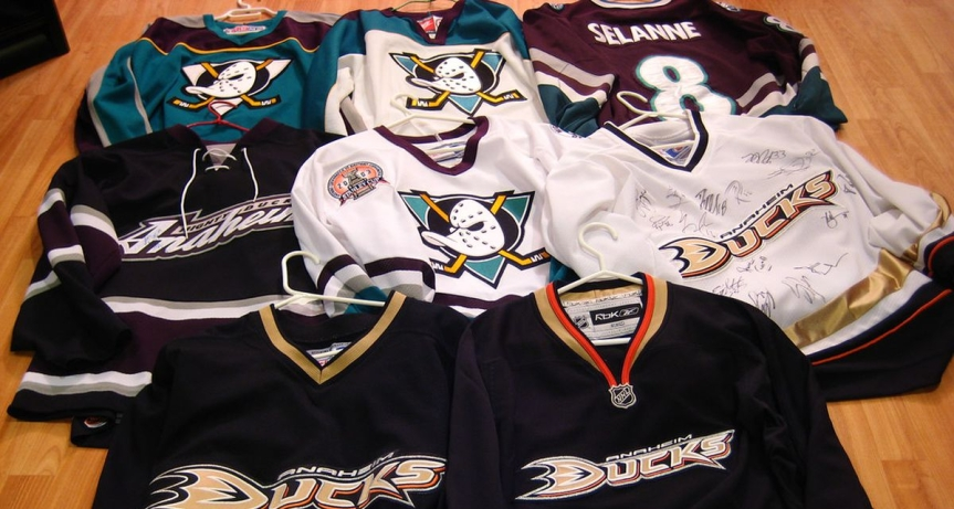 Worst to First: Anaheim Ducks Jerseys