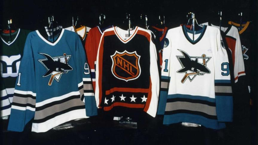 Worst to First: San Jose Sharks Jerseys