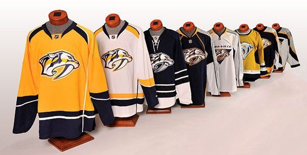 Worst to First: Nashville Predators Jerseys