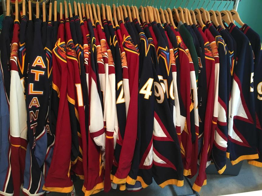 Worst to First: Atlanta Thrashers Jersey