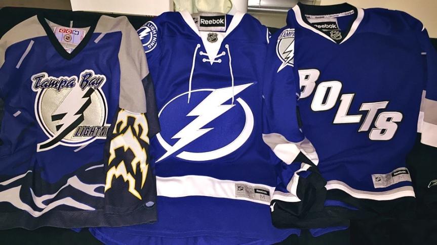 Worst To First Tampa Bay Lightning Jerseys