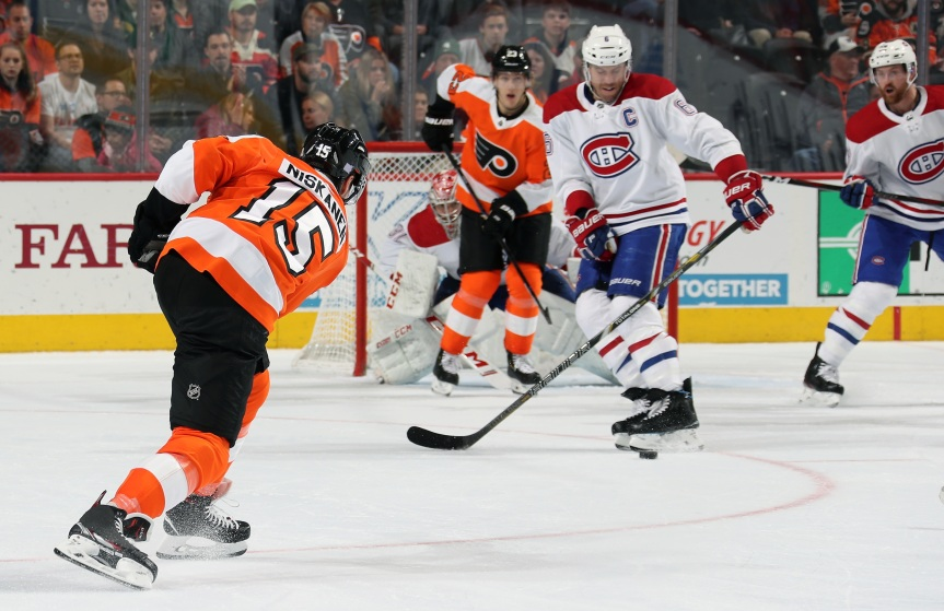 Round 1: Flyers vs Canadiens Game 1 Preview
