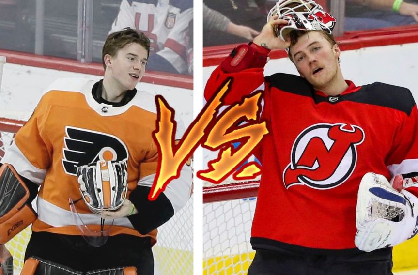 Flyers vs Devils TopPlayers