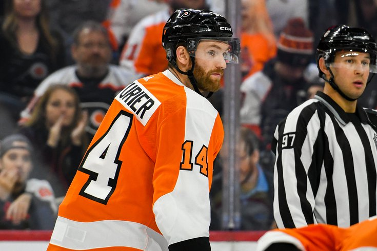 The Flyers Shouldn't Re-Sign SeanCouturier