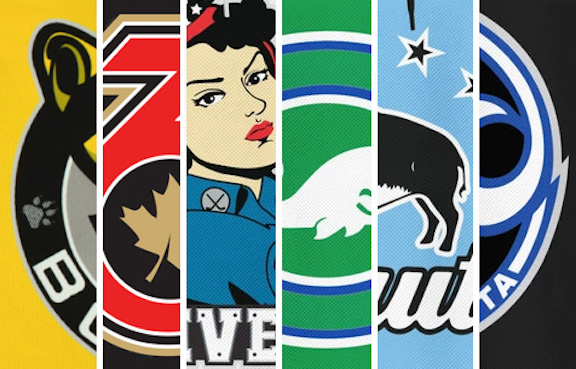 Worst to First: NWHL Jerseys2021