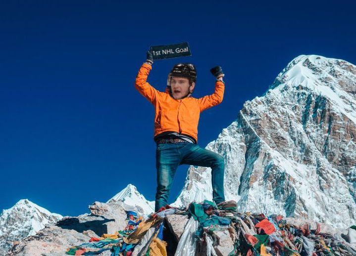 Samuel Morin: Climbing theMountain