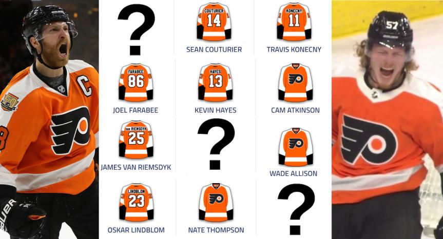 Predicting the Flyers' ForwardLineup